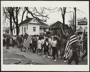 March from Selma to Montgomery, 1965 (Library of Congress)
