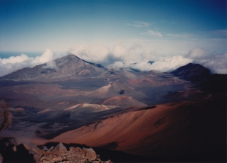 Haleakala photograph © Peggy Kornegger